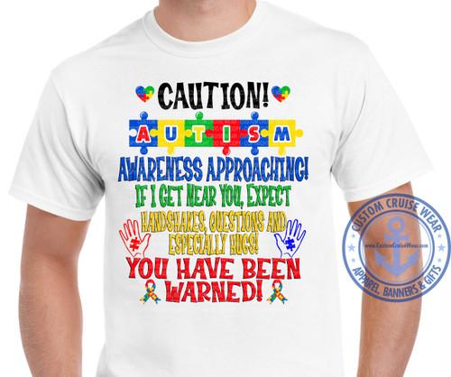 Caution Autism Awareness