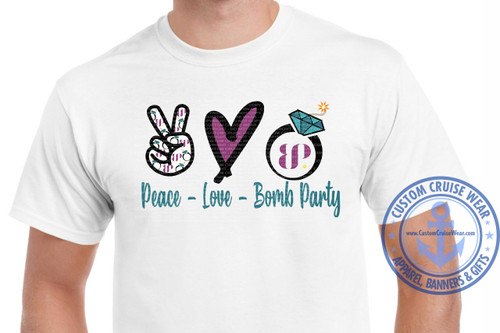 Peace Love Bomb Party
