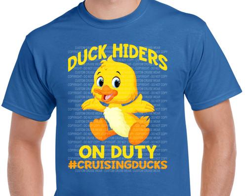 Duck Hiders On Duty