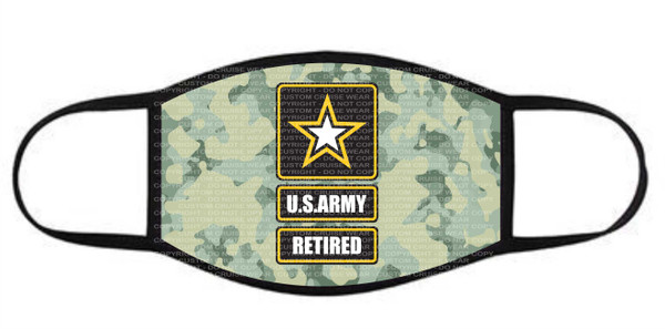Face Cover - US ARMY RETIRED