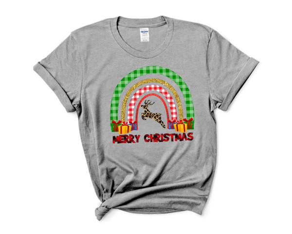 Christmas Rainbow with Reindeer