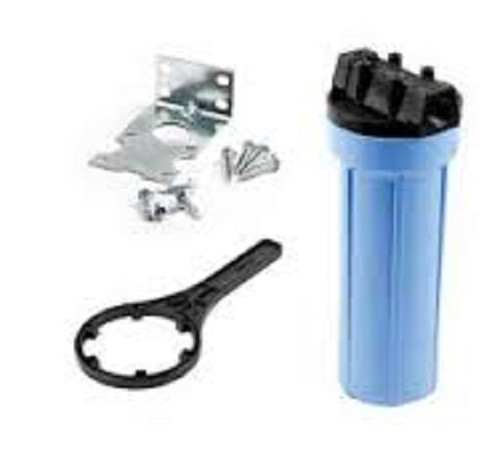 Filter Kit 1'' - Includes housing, bracket, screws, and wrench.