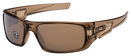 Oakley Crankshaft Sunglasses OO9239-07 Brown Smoke | Tungsten Iridium Polarized Lens