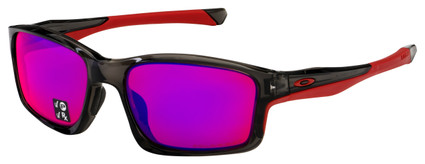 Oakley Chainlink Sunglasses OO9247-1057 Grey Smoke | OO Red Iridium Polarized Lens