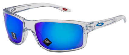Oakley Gibston Sunglasses OO9449-0460 Polished Clear | Prizm Sapphire Lens
