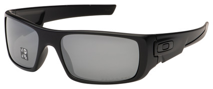 Oakley Crankshaft Sunglasses OO9239-06 Matte Black | Black Iridium Polarized Lens Covert
