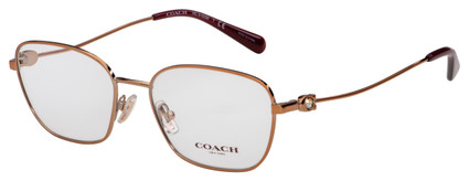 Coach Eyeglasses HC 5103B 9331 52 Shiny Rose Gold Frame [52-17-140]