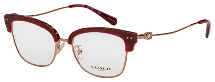 Coach Eyeglasses HC 5104B 9331 51 Burgundy/Rose Gold Frame [51-17-140]