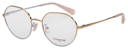 Coach Eyeglasses HC 5106 9338 52 Shiny Rose Gold Frame [52-18-140]