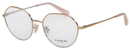 Coach Eyeglasses HC 5106 9338 54 Shiny Rose Gold Frame [54-18-140]