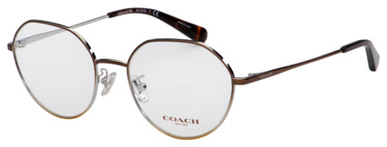 Coach Eyeglasses HC 5106 9339 52 Shiny Brown Frame [52-18-140]