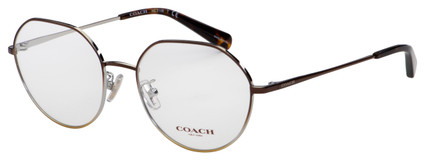 Coach Eyeglasses HC 5106 9339 54 Shiny Brown Frame [54-18-140]