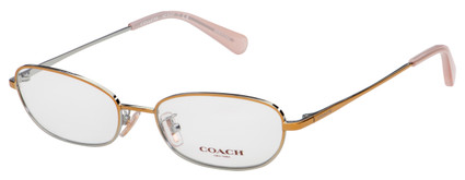 Coach Eyeglasses HC 5107 9338 53 Shiny Rose Gold Frame [53-17-140]