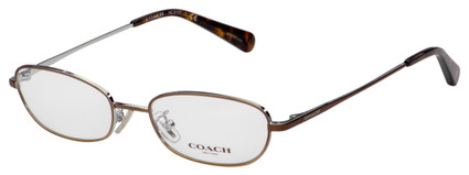 Coach Eyeglasses HC 5107 9339 51 Shiny Brown Frame [51-17-140]