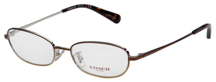 Coach Eyeglasses HC 5107 9339 53 Shiny Brown Frame [53-17-140]