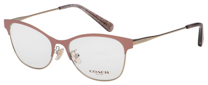 Coach Eyeglasses HC 5111 9350 53 Matte Pink/Light Gold Frame [53-17-140]