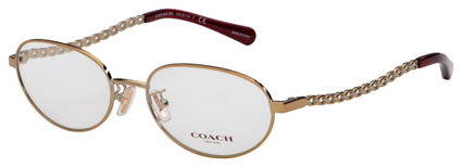 Coach Eyeglasses HC 5114 9352 54 Light Gold Frame [54-17-140]