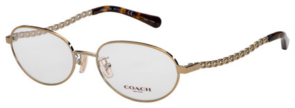 Coach Eyeglasses HC 5114 9356 54 Light Gold Frame [54-17-140]