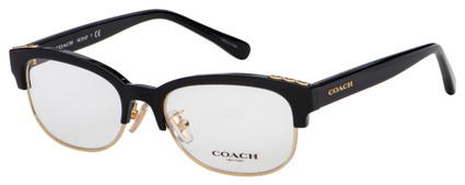 Coach Eyeglasses HC 6157 5002 52 Black Frame [52-17-140]