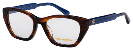 Tory Burch Eyeglasses TY 2115U 1837 50 Dark Wood Frame [50-18-140]