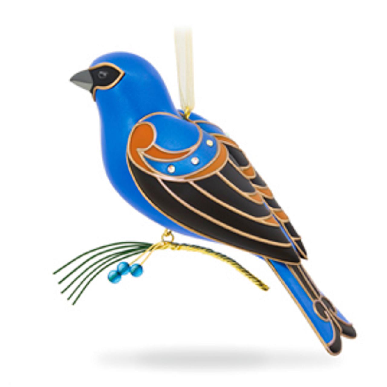 Hallmark 2017 Mountain Bluebird Ornament