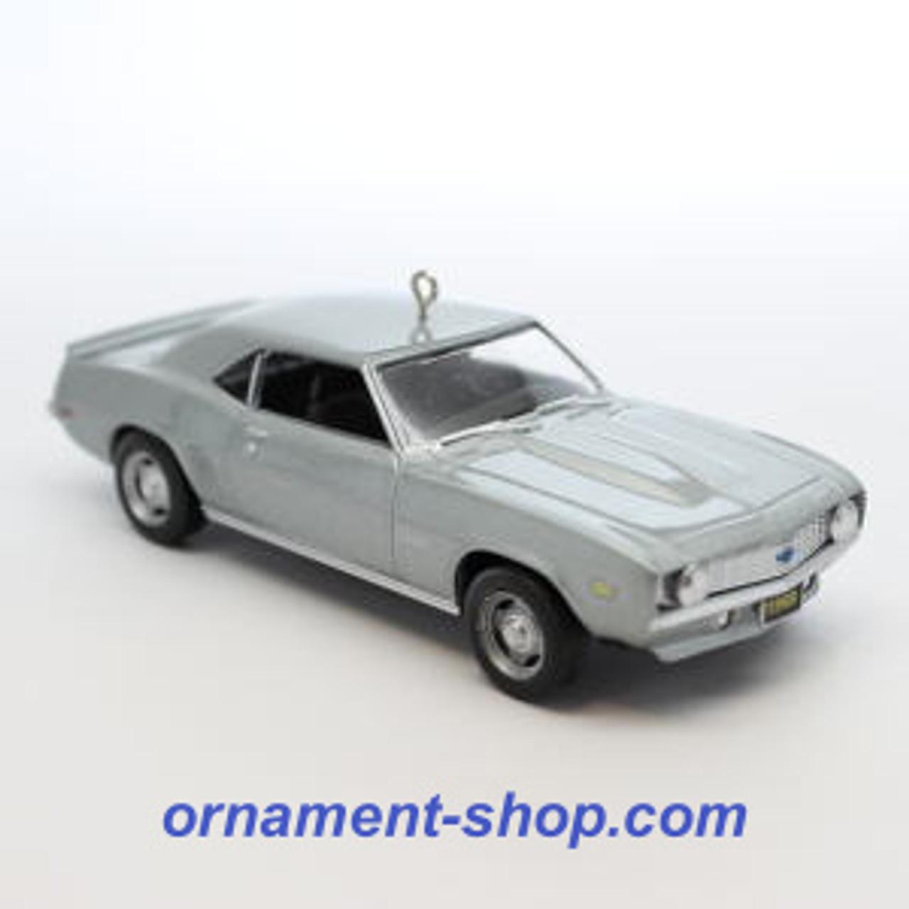white 1969 Chevrolet Camaro SS Ornament Kiddie Car Hallmark