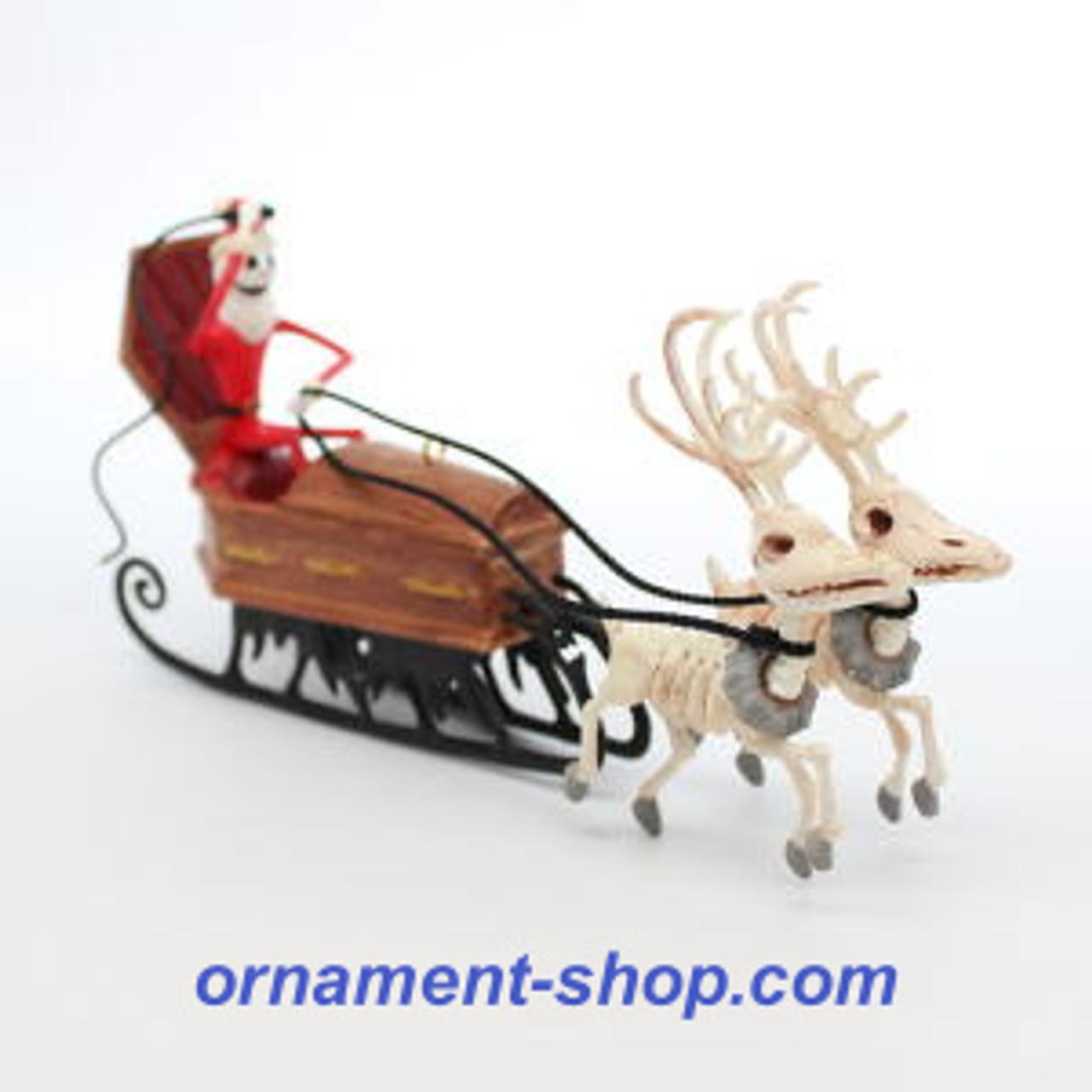 Hallmark Nightmare Before Christmas Ornaments.2019 Nightmare Before Christmas Here Come S Sandy Claws