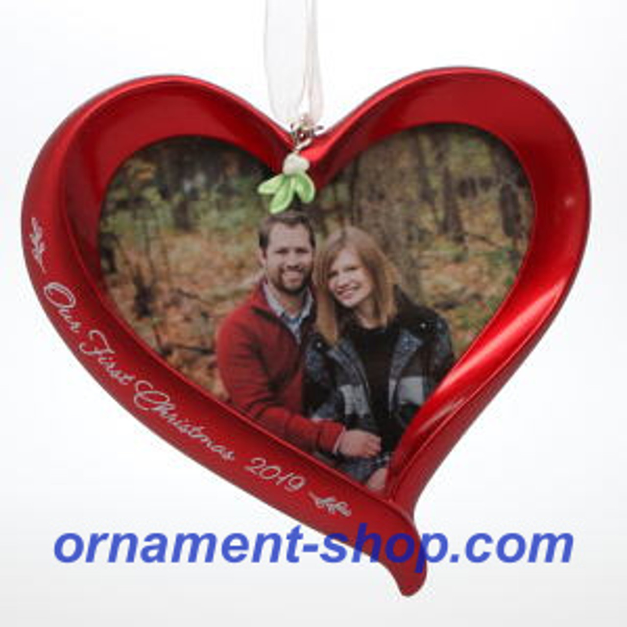 Hallmark Our First Christmas Ornament.2019 Our First Christmas Photo