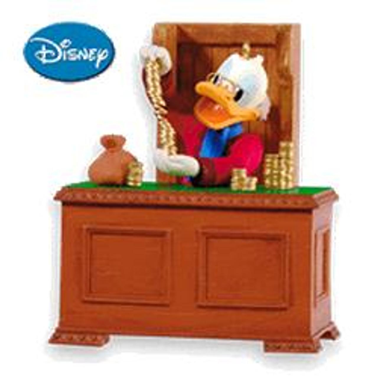 2010 Disney Christmas Carol 2 Scrooge Mcduck Hallmark Ornament