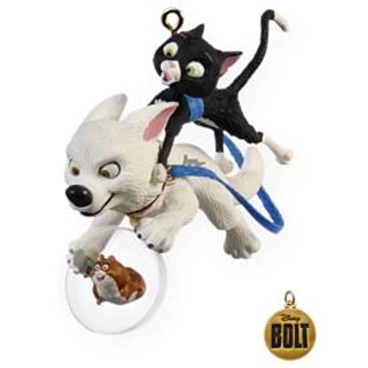2009 Disney One Unlikely Team Bolt Hallmark Ornament