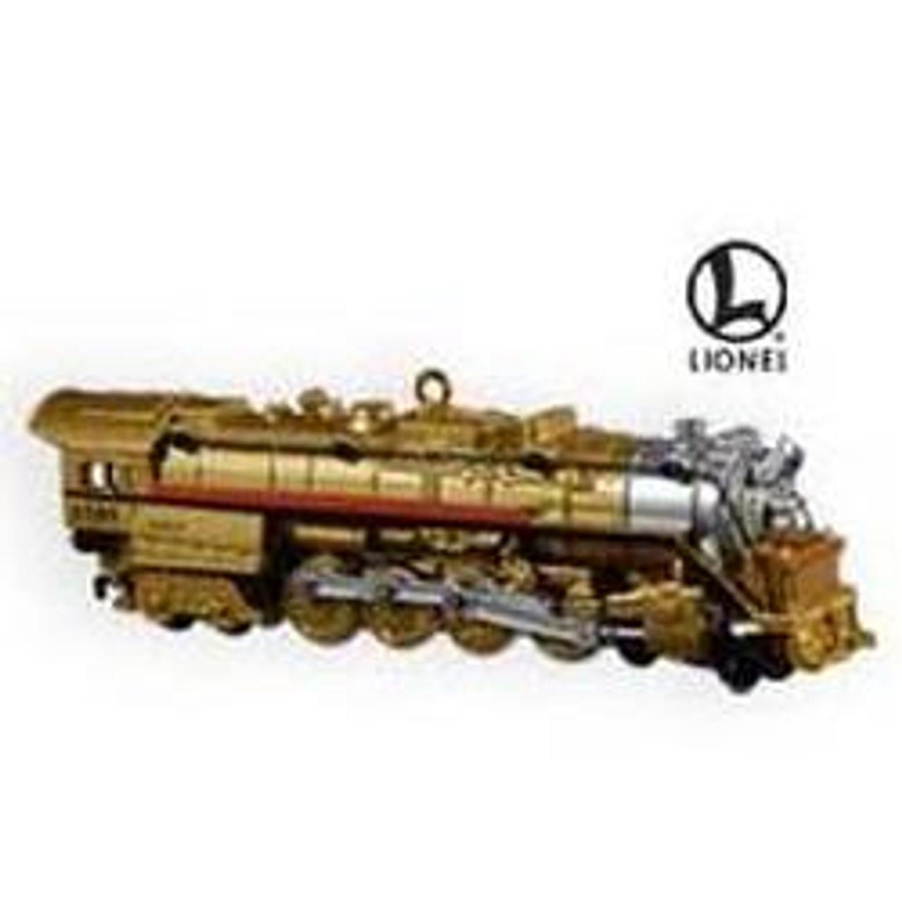 the HIAWATHA Train Set of 3  Hallmark Lionel Ornaments MINT IN BOX