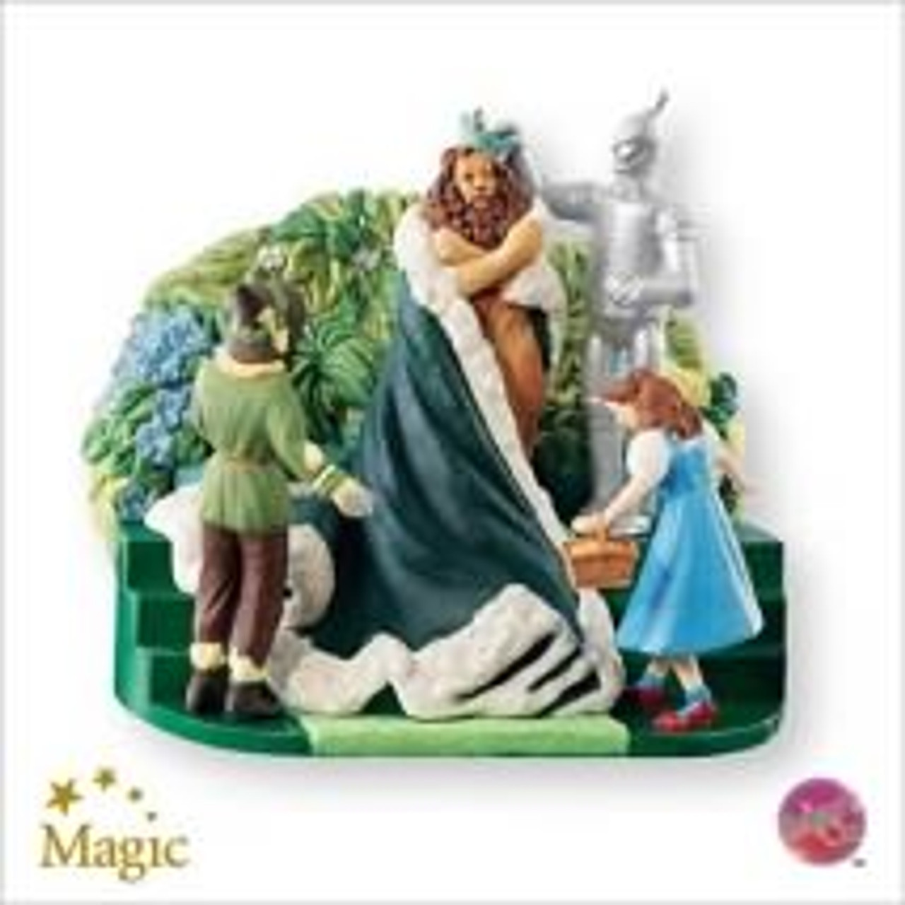 Hallmark The Wizard of Oz DOROTHY GALE Christmas Tree Ornament Holiday Keepsake