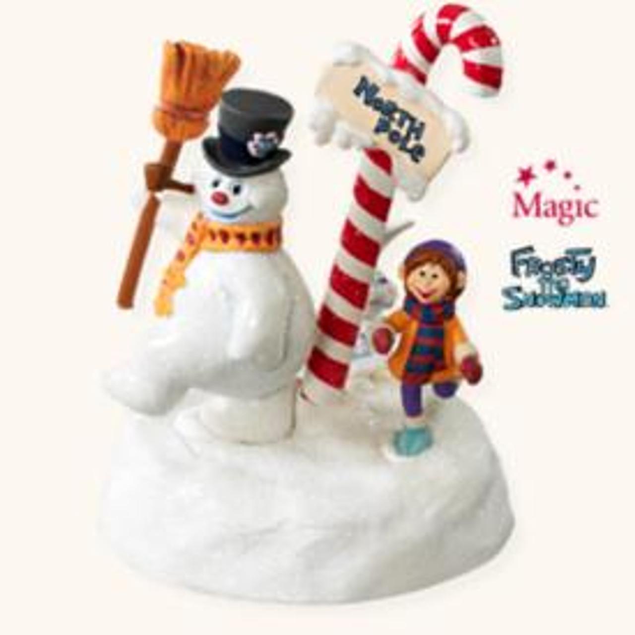Frosty Snowman Ornament