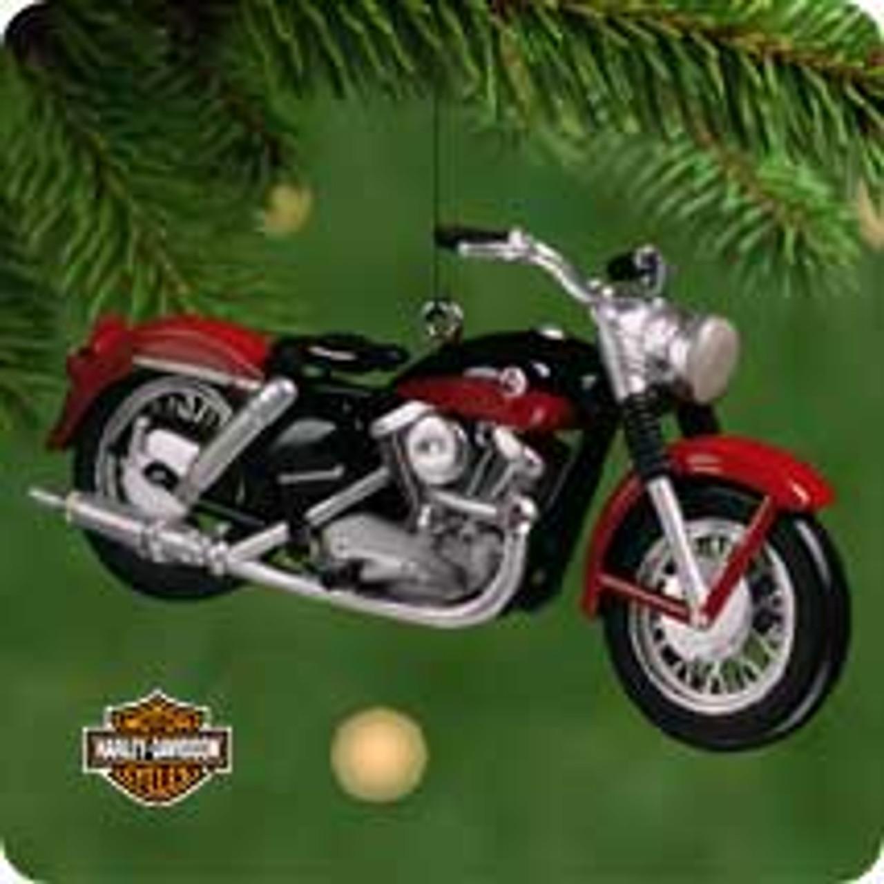 2001 Harley Davidson 3 57 Xl Sportser Hallmark Ornament The Ornament Shop