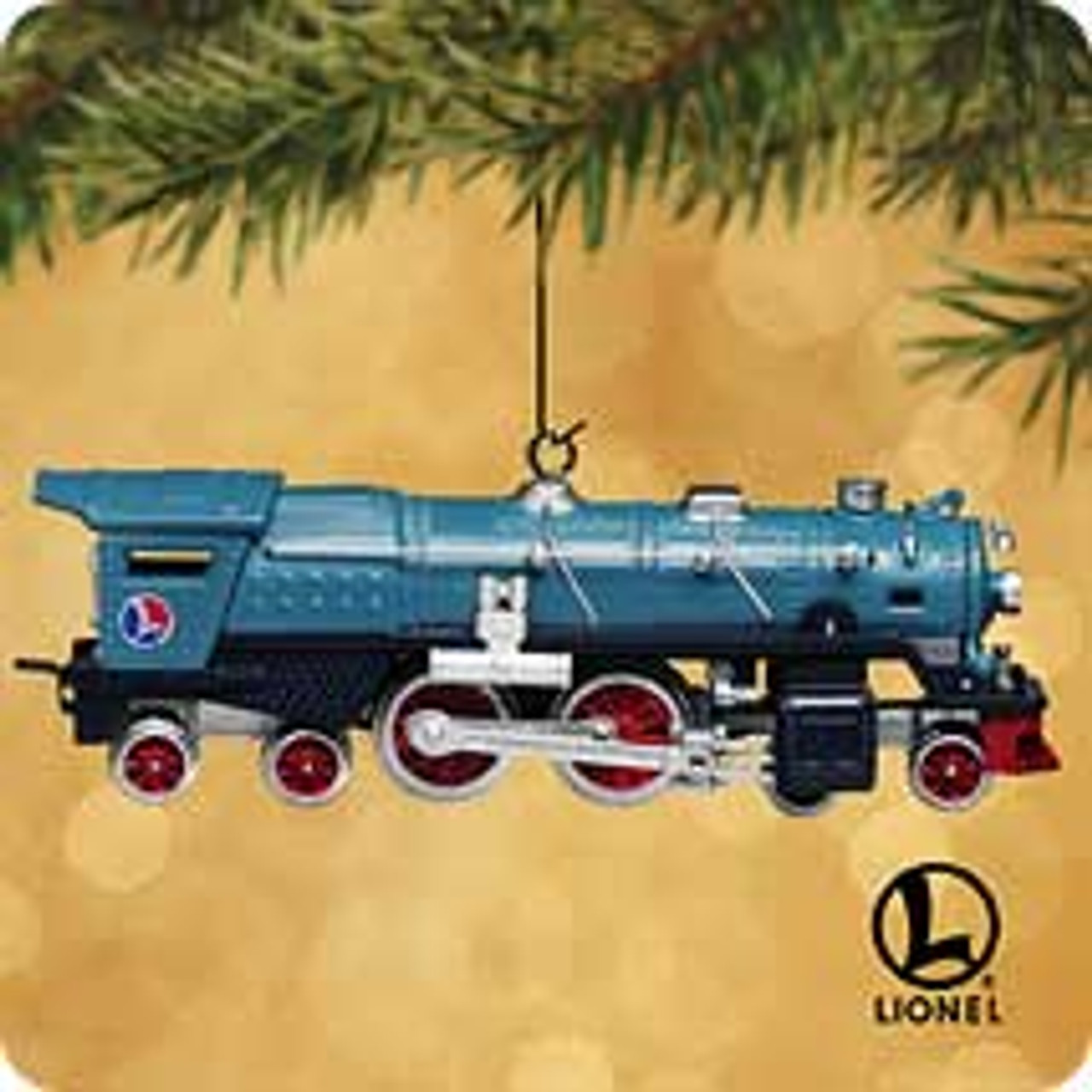 LIONEL Train Series 2002 Locomotive and train car Hallmark Ornaments