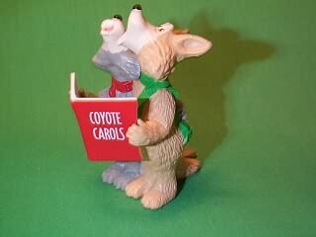 Coyote Carols 1990 Hallmark Ornament QX4993