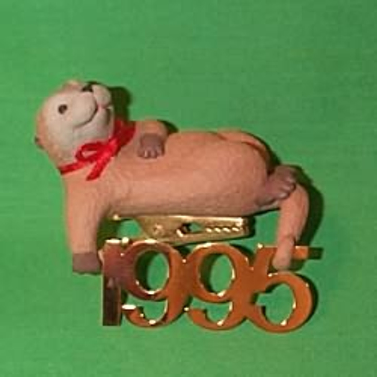 Hallmark Keepsake Ornament FABULOUS DECADE 1995 NIB Collector/'s Series #6 Otter