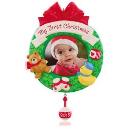 2015 Babys 1st Christmas - Photo