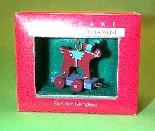 1988 Folk Art Reindeer
