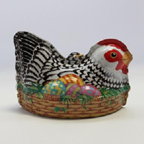 1999 Easter Egg Nest - Tin