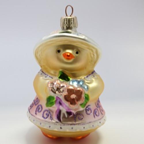 1999 Spring Chick _ Blown Glass