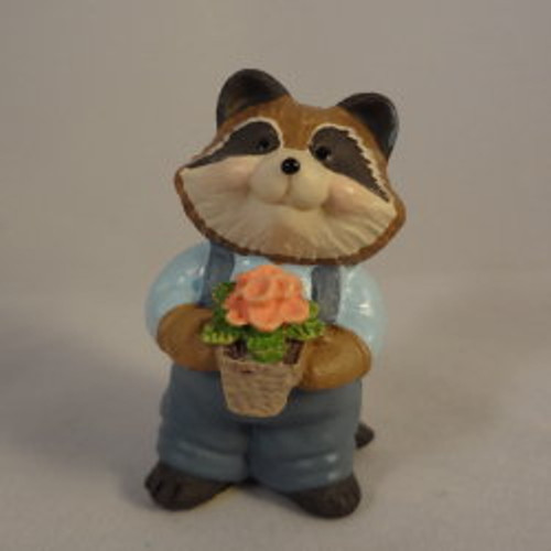 1995 Raccoon - Flower
