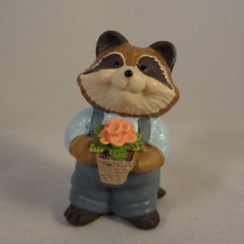 1995 Raccoon - Flower