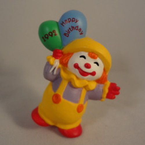 1992 Birthday Clown 3Rd