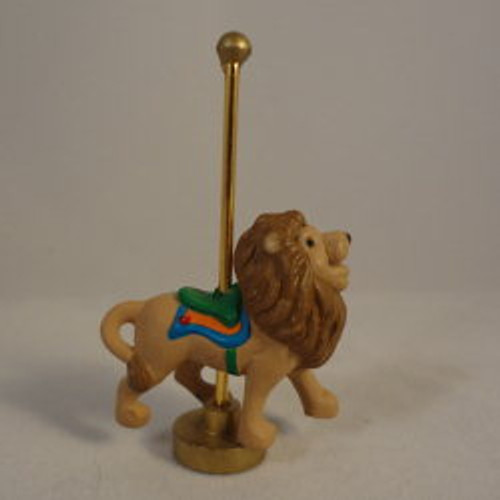1991 Carousel Lion
