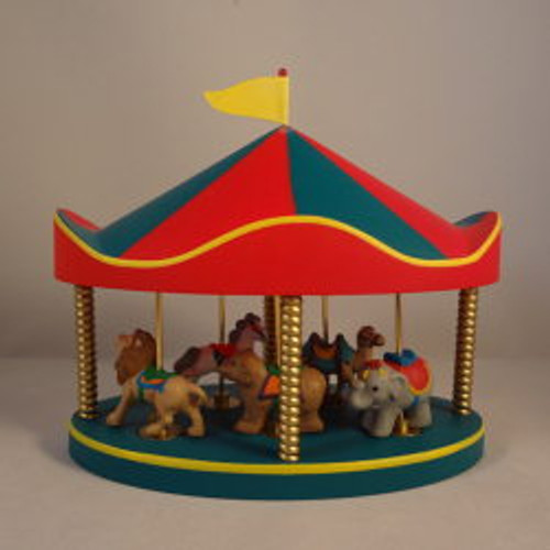 1991 Carousel Set - 6 Pieces