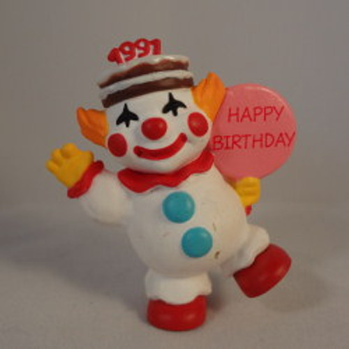 1991 Happy Birthday Clown 2Nd