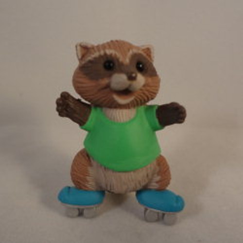 1991 Skating Raccoon