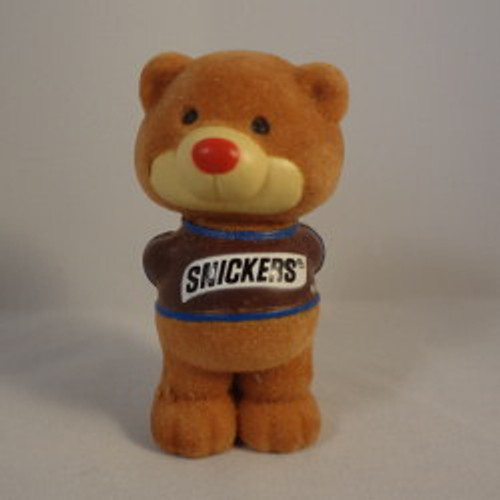 1984 Snickers Bear - Behind Back