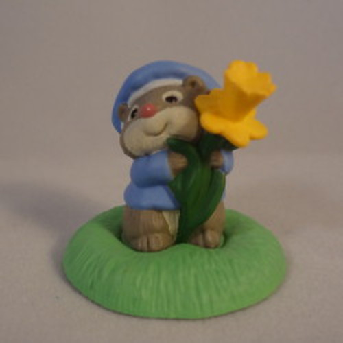1994 Mouse With Flower